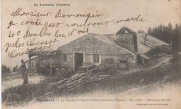 Cornimont La Chaume Du Grand Ventron (frontière D'alsace)Alt. 1209 M Restaurant Arnold - France