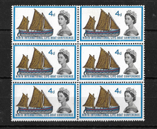 GB QEII 1963 Lifeboat Conference 4d In MNH Block Of 6 (5749) - Unused Stamps