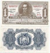 Bolivia 1 Boliviano 1928 (1952). UNC - Bolivia