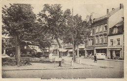 """Bastogne  """"  Place Général Mac Auliffe  """"  (  Tank Sherman .) - Bertogne"""