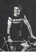 """Coureur Cycliste De L'équipe Allemande """" ROKADO """" , Albert FRITZ , Né Le 30/03/1947 En Allemagne - Cyclisme"""