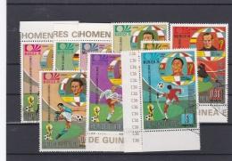 Guinea Ecuatorial 1974 World Cup FIFA Football Germany - 8 Stamps Used (H34) - Coppa Del Mondo