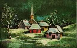 Carte Postale Illustrée  JLP 631/2 -  Bonne Année  (Paysage D'hiver) - Matériel