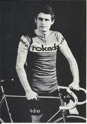"""Coureur Cycliste De L'équipe Allemande """" ROKADO """" , Slegefried MÜLLER , Né Le 27/09/1945 En Allemagne - Cyclisme"""