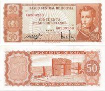 Bolivia 50 Bolivianos 1962. UNC - Bolivia