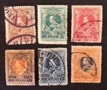 Siam 1920 Yvert Et Tellier N°158 à 164 -2 - Siam