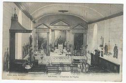 ARCHIAC (17) - L'Intérieur De L'Eglise - Frankrijk