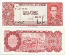 Bolivia 100 Bolivianos 1962. UNC - Bolivia