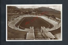 CARTE PHOTO DU ANCIEN STADE FOOTBALL FOOT DE ROMA ITALIE NON ECRITE : - Football
