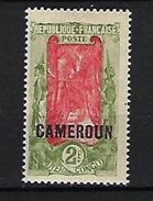 "Cameroun YT 99 "" 2F. Olive Et Carmin "" 1921 Neuf** - Kameroen (1915-1959)"