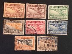 Siam 1925 Poste Aérienne Yvert Et Tellier N°1 à 8 - Siam