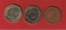 Jordanie  -- Lot De 3 Monnaies - Jordan