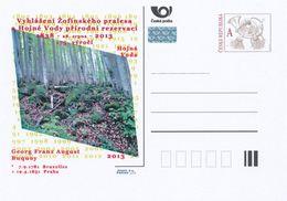 """Tschech. Rep. / Ganzsachen (Pre2013/36) Bekanntmachung """"Hojna Voda (Heilbrunn)"""" Naturschutzgebiet 1838-2013, 175 Jahre - Ferien & Tourismus"""