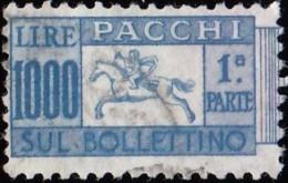 ITALY - Scott #Q76 Horn / Used Stamp - 6. 1946-.. Republic