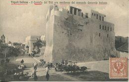 Tripoli Italiana - Il Castello Del Vali Ora Residenza Del Comando Generale Italiano 1912  (002358) - Libyen