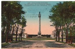 CPA (62), PAS DE CALAIS, BOULOGNE-SUR-MER, Colonne De La Grande Armée, Commencement De L'avenue - Boulogne Sur Mer