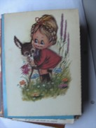 Kinderen Children Enfants Kinder Girl With Animal - Kindertekeningen