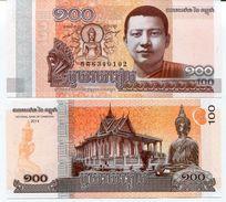 KH (b) - 2014 - 100 Riels - New - Cambodia