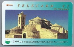 CY.- Telefoonkaart. 22CYPA037678. B. Cyprus Telecommunications Authority. £ 3. - Telecard. 2 Scans - Cyprus