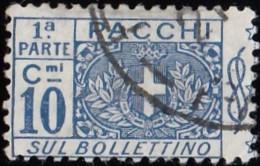 ITALY - Scott #Q8 Coat Of Arms (*) / Used Stamp - 1900-44 Vittorio Emanuele III