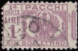 ITALY - Scott #Q30 Coat Of Arms / Used Stamp - 1900-44 Vittorio Emanuele III