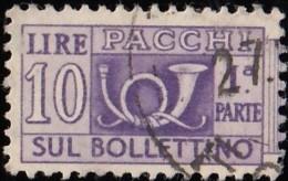 ITALY - Scott #Q68 Horn (1) / Used Stamp - 6. 1946-.. Republic