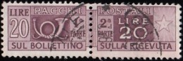ITALY - Scott #Q69 Horn / Used Stamp - 6. 1946-.. Republic