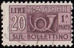 ITALY - Scott #Q69 Horn (1) (*) / Used Stamp - 6. 1946-.. Republic