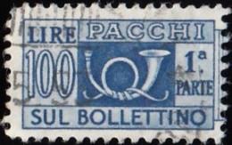 ITALY - Scott #Q72 Horn  / Used Stamp - 6. 1946-.. Republic