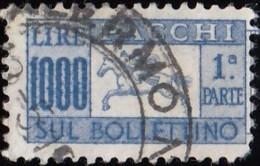ITALY - Scott #Q76 Horn (1) / Used Stamp - 6. 1946-.. Republic