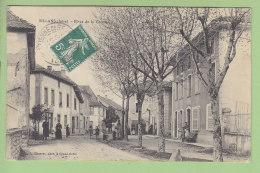 SILLANS : Place De La Croisée, Café Grivel. 2 Scans. Edition Charvat - Other Municipalities