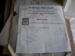 Erste Osterreichische Knopfstanzen Fabrik Matthaus Marschall Wien 1937 - Austria