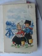 Kinderen Children Enfants Kinder Boy And Girl Traditional Clothes - Kindertekeningen