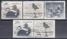 SUECIA 1986 Nº 1354/56 + 1354a USADO - Sweden
