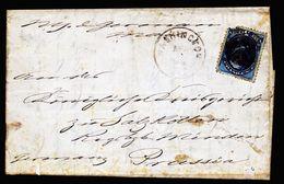 A5016) US Consulats-Brief Von Washington 1877 Nach Salzkotten / Germany - 1847-99 Unionsausgaben
