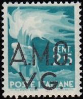 ITALY (Veneza Giulia) - Scott #1LN14 Torch 'Overprinted' (*) / Mint NH Stamp - 8. WW I Occupation