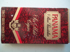 GREECE EMPTY TOBACCO BOXES IN DRACHMAS PANAMA - Boites à Tabac Vides
