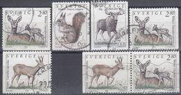 SUECIA 1992 Nº 1686/86A + 1686Aa USADO - Sweden