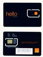 KENYA - Mint/Unused SIM Chip Phonecard/Orange Hello - Kenya