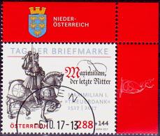 Austria Österreich 2017 Tag Der Briefmarke  USED / O / GESTEMPELT - 2011-... Gebraucht