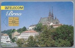 CZ.- Telefoonkaart. Tsjechië. SPT TELEKOM. BRNO.  2 Scans - Tsjechië