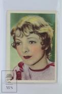 Old Trading Card/ Chromo Cinema/ Movie Topic - Actress: Helen Hayes - Otros