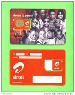 CONGO DR (KINSHASA) - Mint/Unused SIM Phonecard With Chip/Airtel One8 - Congo