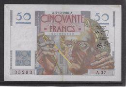 France 50 Francs Le Verrier - 3-10-1946 - Fayette N° 20-6 - TTB - 1871-1952 Gedurende De XXste In Omloop
