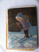 Kinderen Children Enfants Kinder Little Girl On Ski Skies - Kinderen