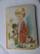 Kinderen Children Enfants Kinder Boy With Pop And Dog - Kindertekeningen