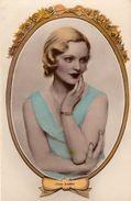 Joan Barry.   Actress.   Cameo Series.    (D980)     RPPC. - Acteurs