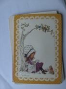 Kinderen Children Enfants Kinder Miss Petticoat With Cat - Kindertekeningen
