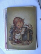 Kinderen Children Enfants Kinder Little Girl Is Reading - Kindertekeningen
