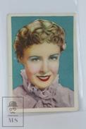 Old Trading Card/ Chromo Cinema/ Movie Topic - Actress: Madge Evans - Otros